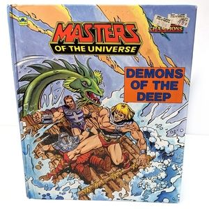 Vintage He Man Demons of the Deep Collectible Book